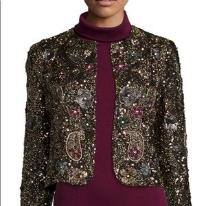 Alice & Olivia Kidman Embellished Jacket